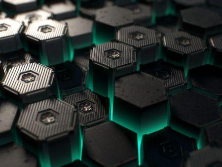 Sci Fi Hex Tile Material - Substance Designer / #Nodevember2020