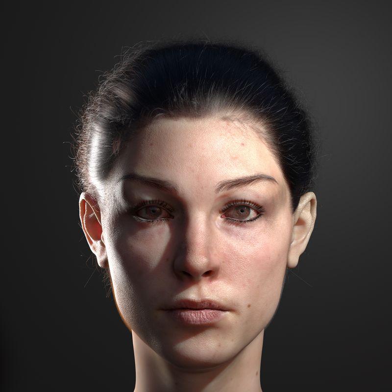 3d portrait
