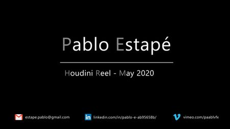 Houdini Demoreel - May 2020 - Pablo Estapé