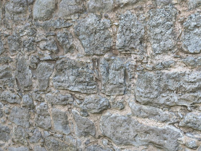 Castle Stone Wall - Photogrammetry Material