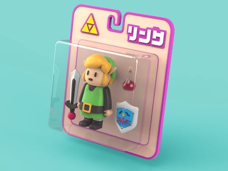 Link Toy - Zelda 3D Model