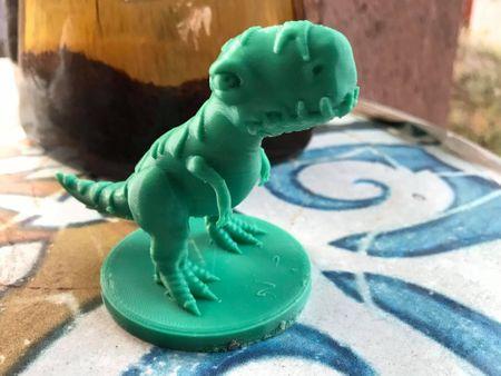 3D Print Stylized T-Rex