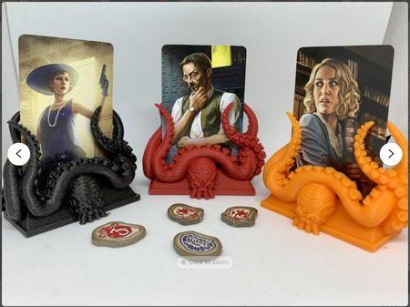 Arkham Horror Card Stand 3D Print