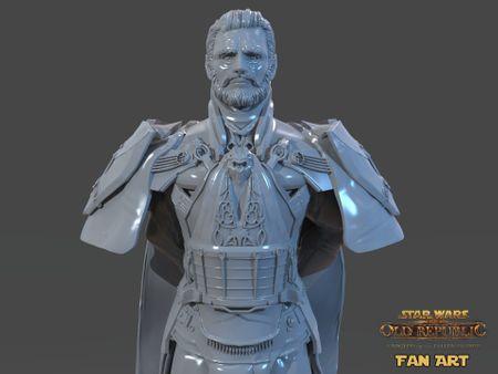 Emperor Valkorion Sculpture 3D Print