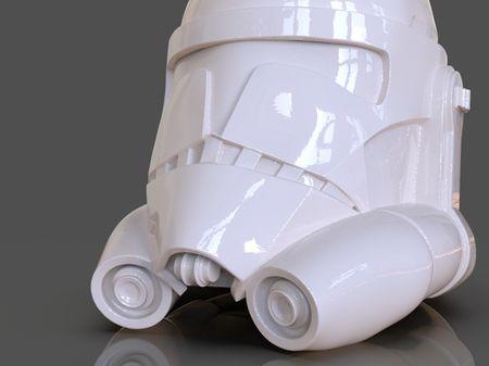 Clone Trooper Helmet Storage Box