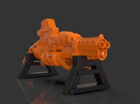 Stylized Sci-fi Shotgun