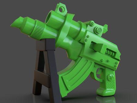 Stylized Scifi Pistol