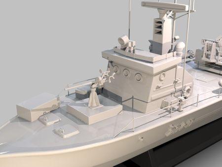 Iranian Torpedoe Warship