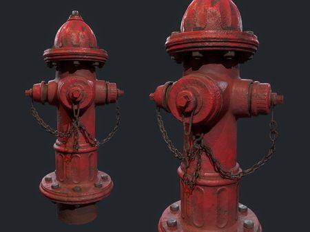 Urban Fire Hydrant