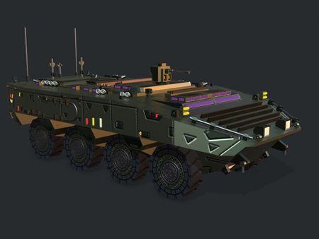Armored Vehicle GTK WOLF APC