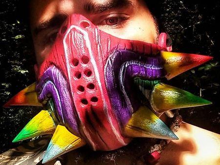 Majoras Mask Quarantine Mask 3D print