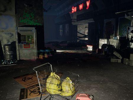 Subway Post Apocalypsis