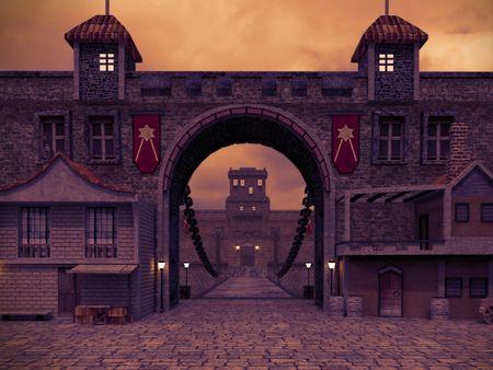 Medieval Castle SCENE