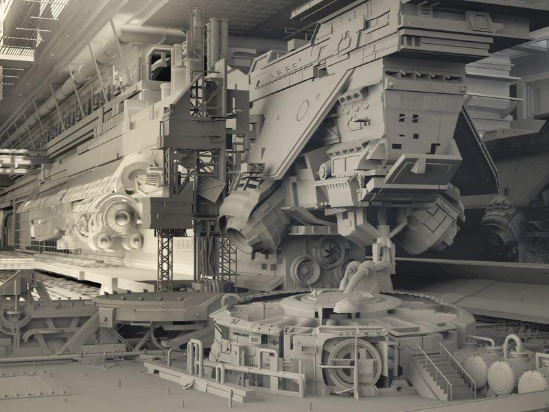 Scifi Shipyard