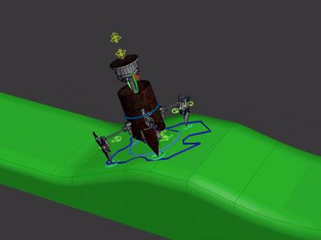 Robot oil barrel War Machine(Appearances are deceptive)
