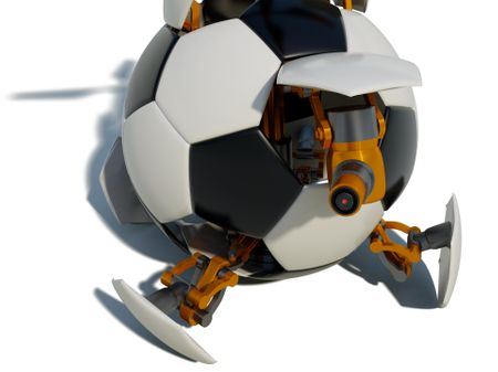 ROBOCUP 2013 WORLD CHAMPIONSHIP | ROBOT TRANSFORMER SOCCER BALL