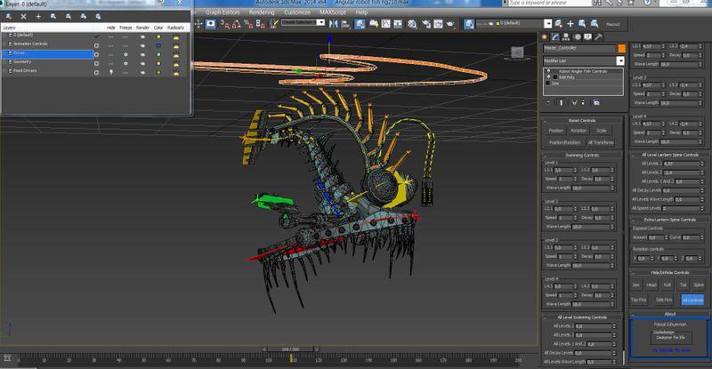 Robot Anglerfish Rig