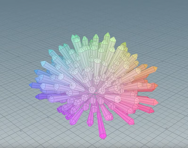 Pascal Schuerman | Procedural Crystals in Houdini