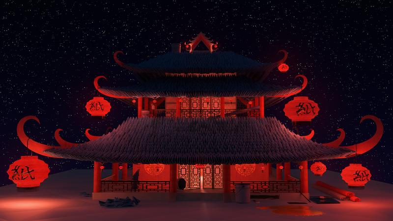 Origami Temple