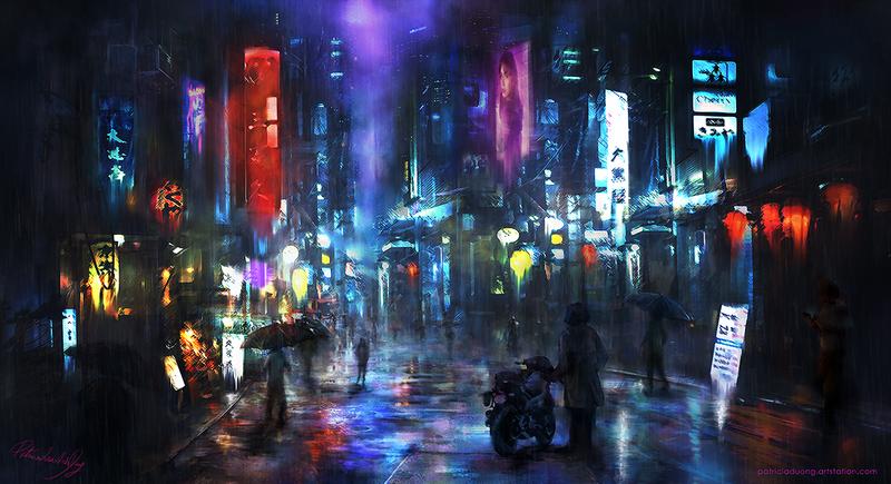 Vivid Rain