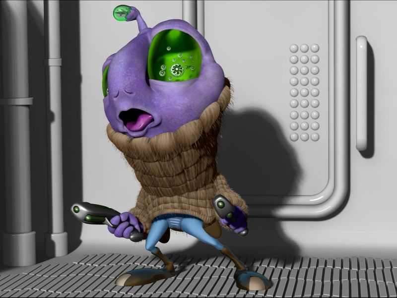 Alien Bounty Hunter Hobb