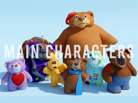 Lair of Forgotten Bears: Main Characters