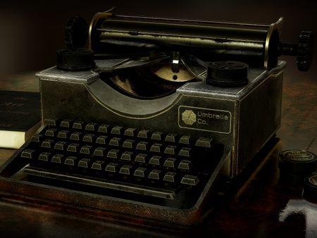 Umbrella Typewriter