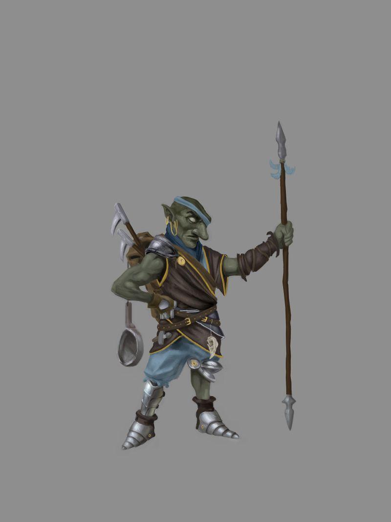The Lone Goblin warrior