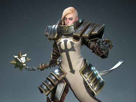Johanna - Heroes of the Storm Fanart