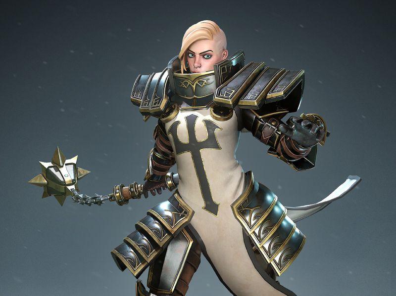 Johanna - Heroes of the Storm Fanart
