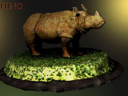 Creature Project: Indian Rhino