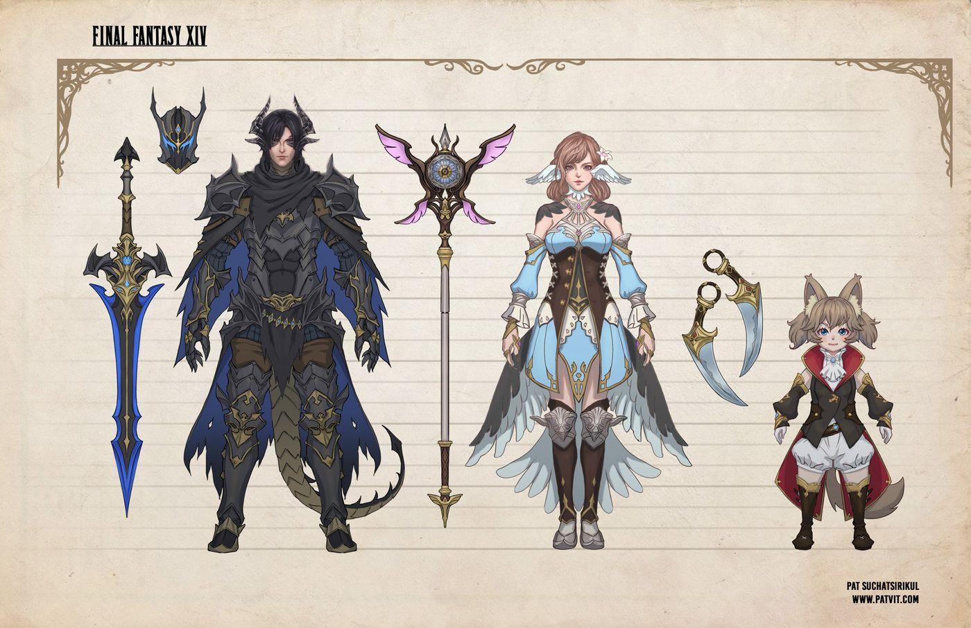 Suchatsirikul Pat Final Page7 Final Fantasy Xiv Hero Line Up Patvit