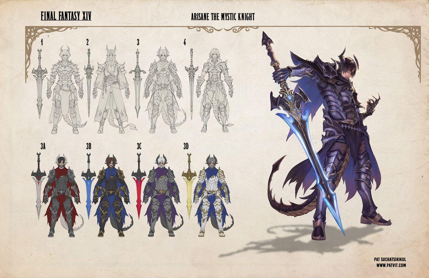 Suchatsirikul Pat Final Page7 Final Fantasy Xiv Hero Sexy Patvit