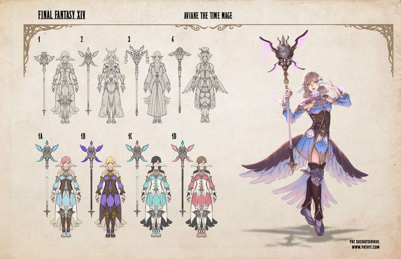 Suchatsirikul Pat Final Page8 Final Fantasy Xiv Hero Capable Patvit