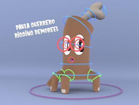 Paula Guerrero - Rigging Demo Reel
