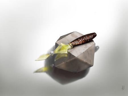 glass knife