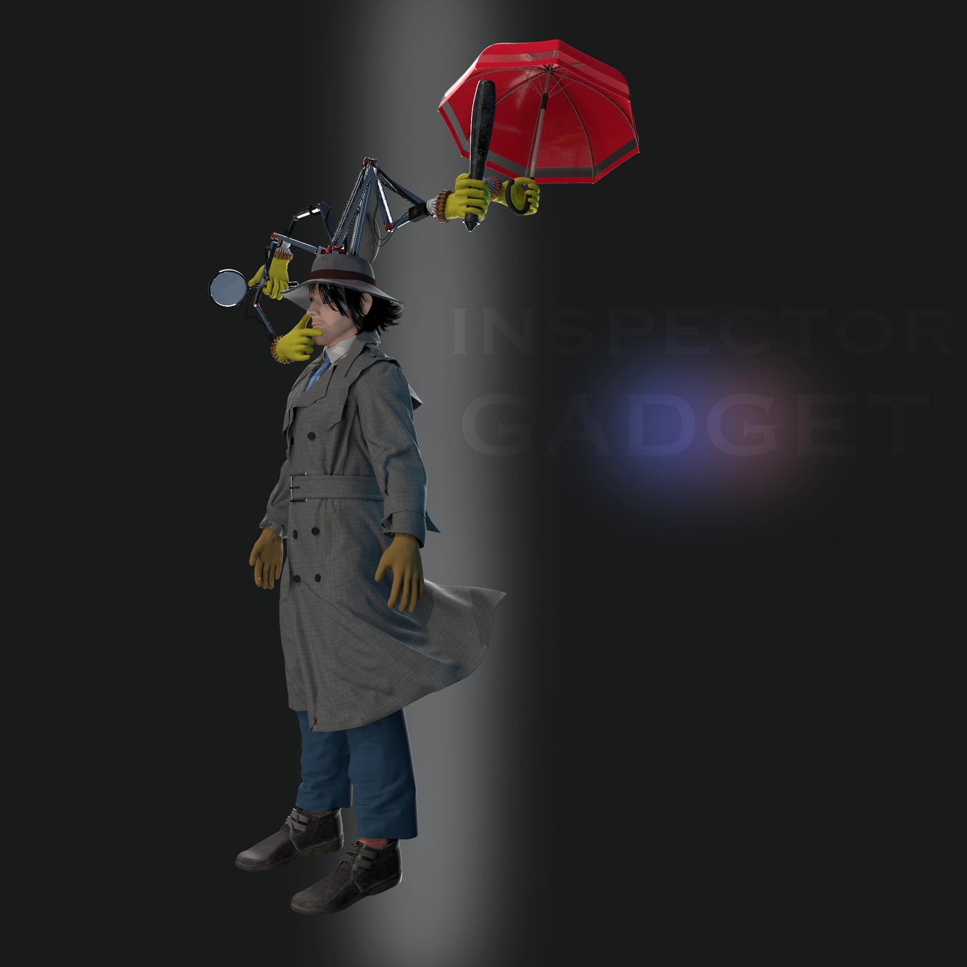 Inspector Gadget Paulgkantinas