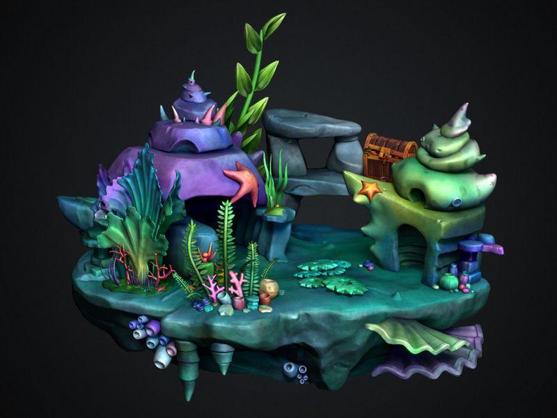 Game & Environment Art by Paulien Wygaerden