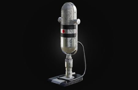 Old ribbon microphone