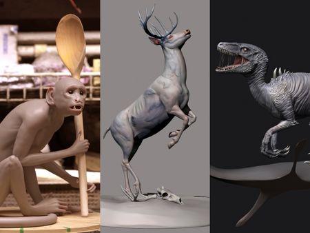 Paulina Rybakaite - Creature Modelling Portfolio 2020