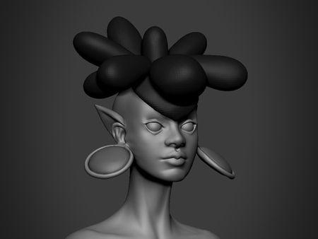 Princess Barin model // WIP