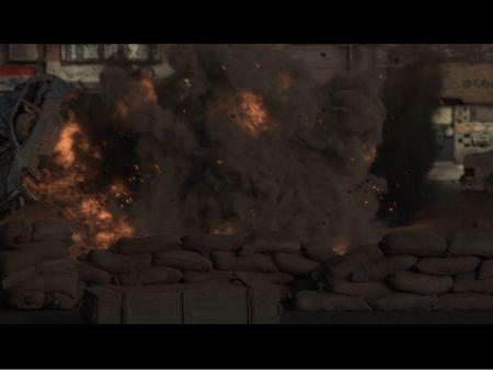 Street explosions Vfx