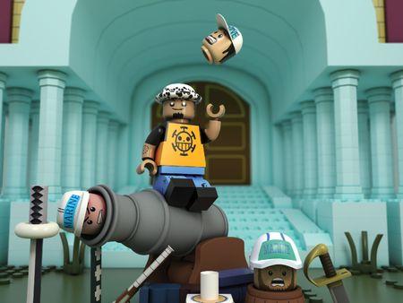 One Piece - Law Lego