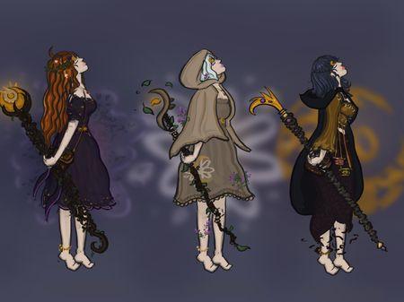 IMS 305 - Character Concept Art