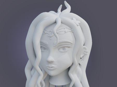 IMS 305 - Sculpting the Head