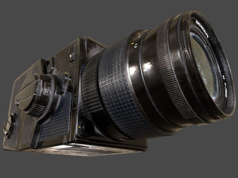 Bronica Camera