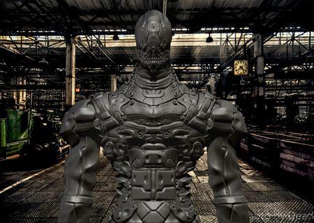 Skull Cyborg