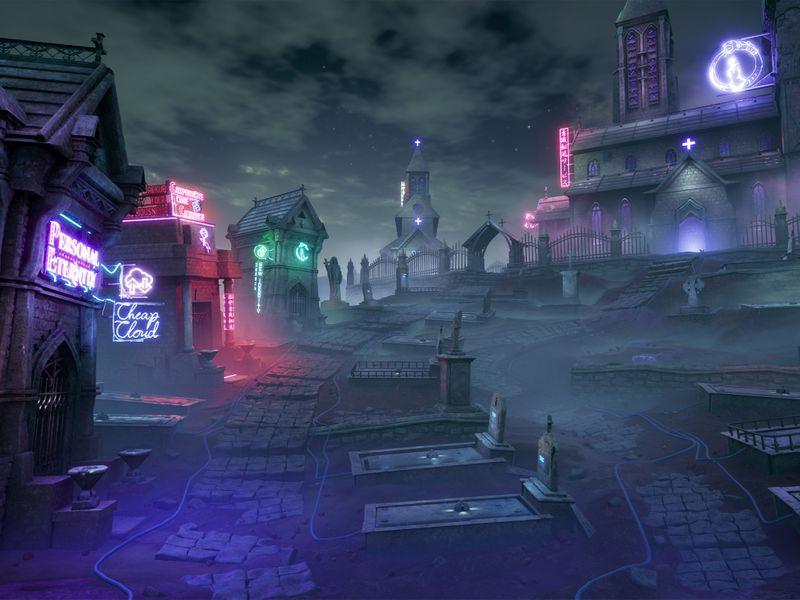 The Neon Graveyard