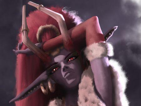 Elf Demon illustration