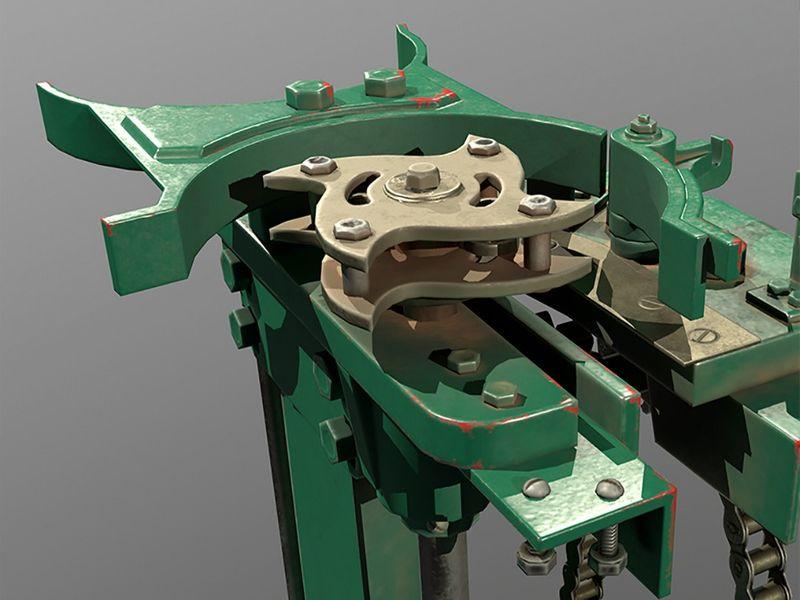 Machinery - hardsurface & Texture Study